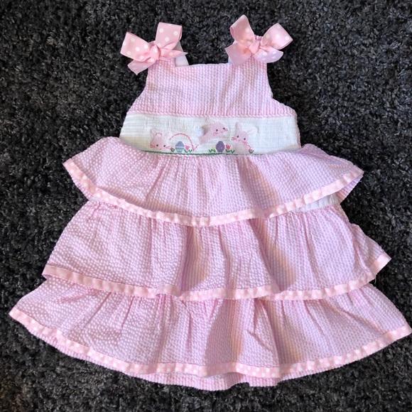 258e24f8f Smocked Easter dress - 2t. M_5c4776e75c4452cc3ef01c1e